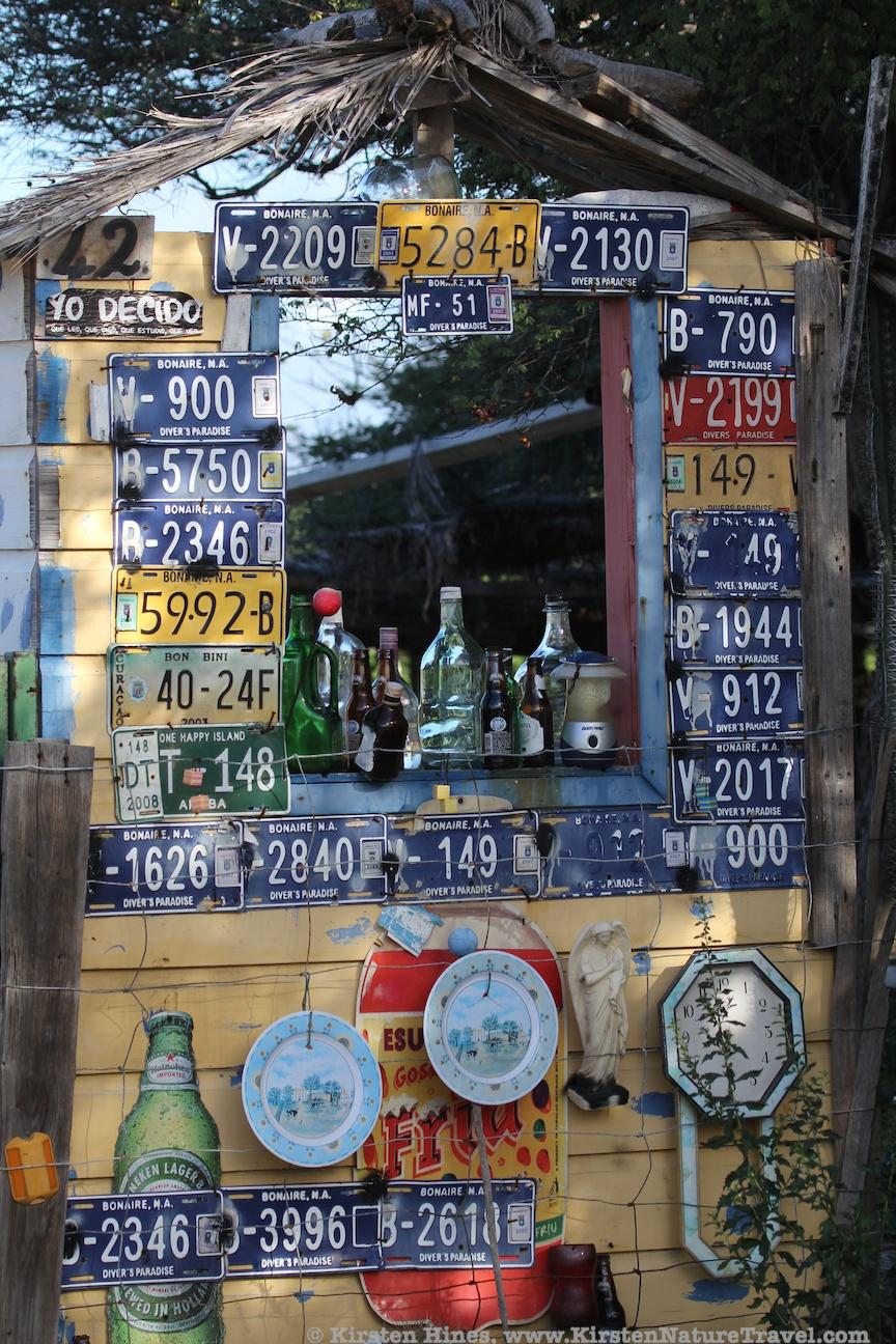 Makeshift bar