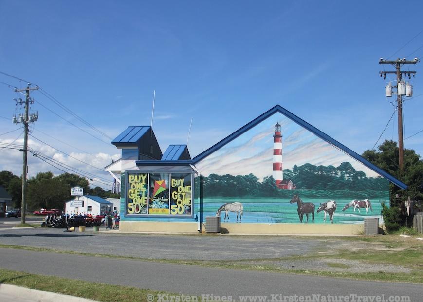 Chincoteague town mural