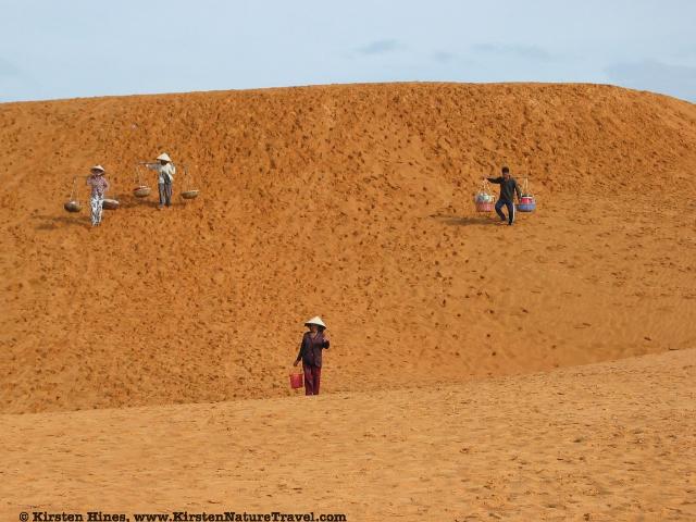 Sand dunes at Mui Ne