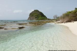 beach at White Island