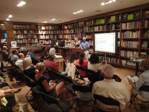 Book talk at Books & Books in Coral Gables, October 2014.