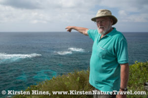David Wingate, the man who made saving the Bermuda Petrel his goal.